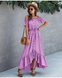Obleka - koda 564 - vijolična