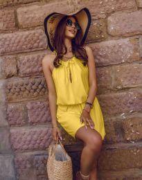 Obleka - koda 8399 - rumena