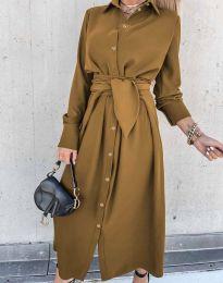Obleka - koda 1860 - rjava