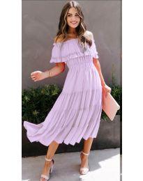Obleka - koda 699 - svetlo vijolična
