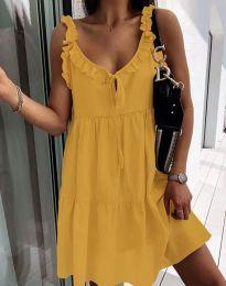 Obleka - koda 2540 - gorčica