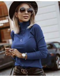Bluza - koda 8861 - 1 - modra