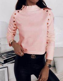 Bluza - koda 2899 - 3 - roza