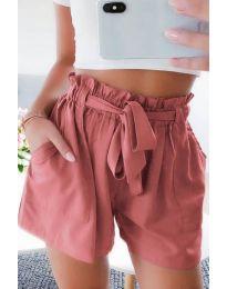 Kratke hlače - koda 3637 - breskev