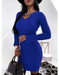 Obleka - koda 5666 - temno modra