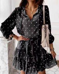 Obleka - koda 7113 - črna