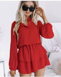 Obleka - koda 4093 - rdeča