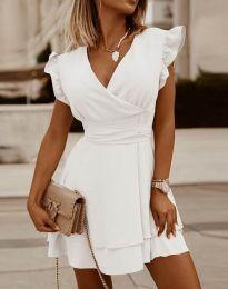 Obleka - koda 5654 - bela