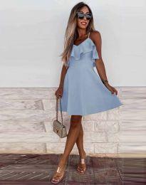 Obleka - koda 2739 - svetlo modra