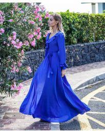 Obleka - koda 8477 - temno modra