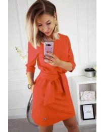 Obleka - koda 594 - oranžna