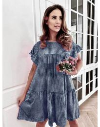 Obleka - koda 6111 - temno modra