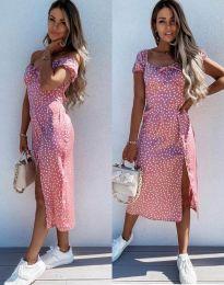 Obleka - koda 2127 - roza