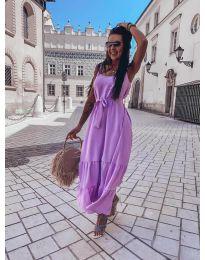 Obleka - koda 1230 - vijolična