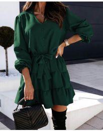 Obleka - koda 8272 - olivna