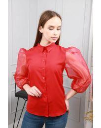 Bluza - koda 0633 - 4 - rdeča