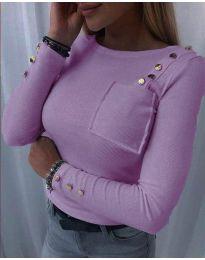 Bluza - koda 1597 - 2 - vijolična