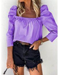 Bluza - koda 9906 - vijolična