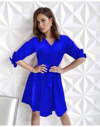 Obleka - koda 9028 - modra