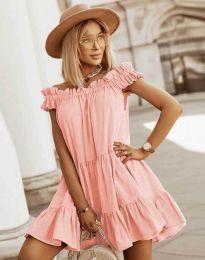 Obleka - koda 6969 - breskev