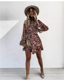 Obleka - koda 248 - 4 - večbarvna