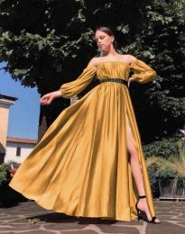 Obleka - koda 1879 - gorčica