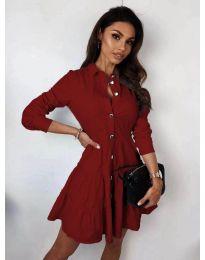 Obleka - koda 3852 - bordo
