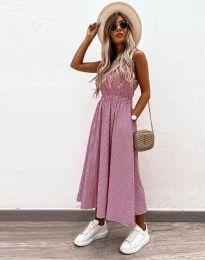 Obleka - koda 2687 - roza