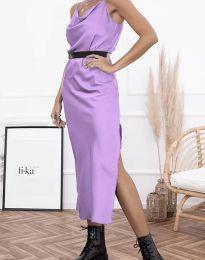 Obleka - koda 6231 - svetlo vijolična