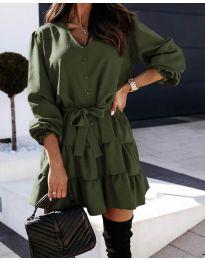 Obleka - koda 8272 - zelena
