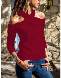 Bluza - koda 4616 - rdeča