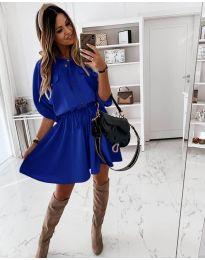 Obleka - koda 8586 - modra