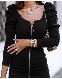 Obleka - koda 2067 - 1 - črna