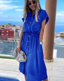 Obleka - koda 6344 - modra