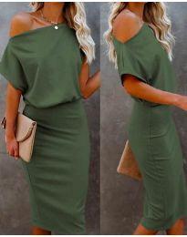 Obleka - koda 1737 - olivno zelena