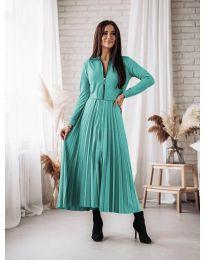 Obleka - koda 1544 - turkizna