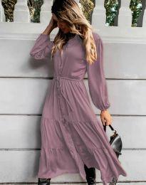 Obleka - koda 6522 - vijolična