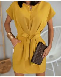 Obleka - koda 772 - gorčica