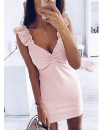 Obleka - koda 1338 - 1 - roza