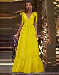Obleka - koda 2743 - rumena