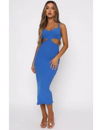 Obleka - koda 111938 - modra