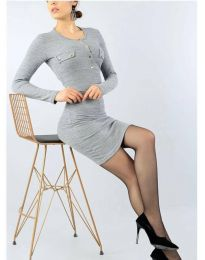 Obleka - koda 2064 - 2 - siva