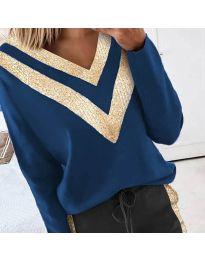 Bluza - koda 2190 - 3 - modra