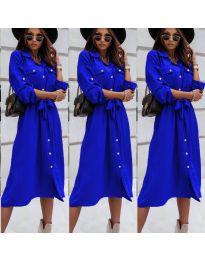 Obleka - koda 1510 - modra