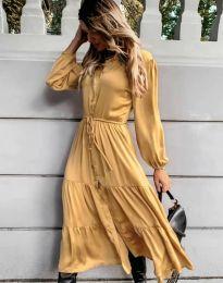 Obleka - koda 6522 - rumena