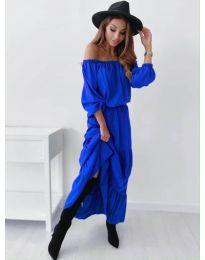 Obleka - koda 1317 - modra