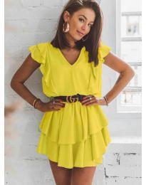 Obleka - koda 7173 - rumena