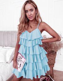 Obleka - koda 8190 - svetlo modra