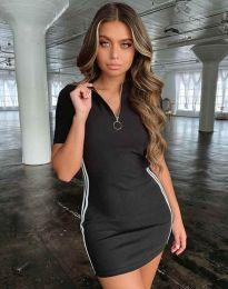 Obleka - koda 2912 - 1 - črna