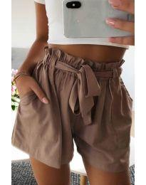 Kratke hlače - koda 3637 - rjava